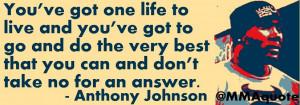 Anthony Johnson Quotes
