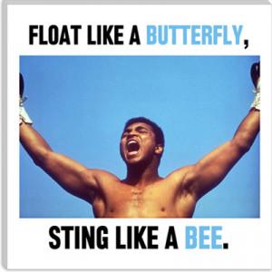 Muhammad Ali Quote Canvas Art Print
