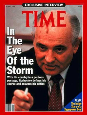 Time - Mikhail Gorbachev - June 4, 1990 - Cold War - Russia