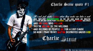 Charlie Scene quote #1 (From the song ''City'') by DcfEmpx