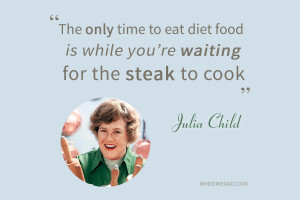 Funny Kitchen Quotes Julia child cooking quote