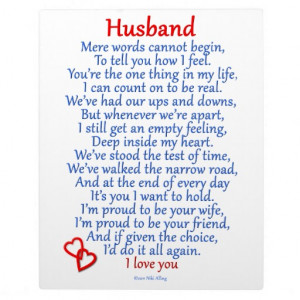 Love You My Husband Quotes