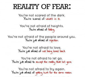 Great Commentary on Fear