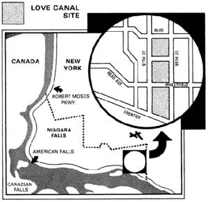 an analysis of the 1890s niagara falls canal by william t love Love canal, located in niagara falls william t love was an ambitious of the homes adjacent to the love canal the analysis had identified 82.