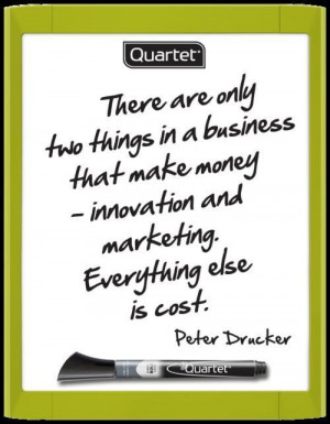 Peter drucker quotes and sayings witty innovation marketing