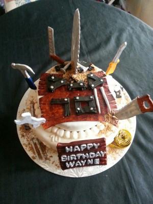 ... birthday cake.: Carpenter Birthday, 70Th Birthday, Birthday Cakes