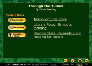 Anthony Browne The Tunnel Powerpoint