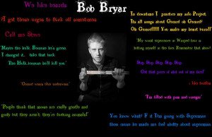 Bob quotes by MyChemicalRomanceFC