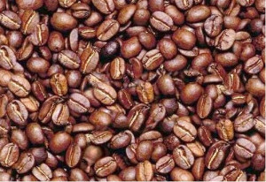 face-in-beans coffee bean man optical illusion