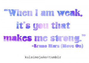 bruno mars, lyrics, move on, quote, typography, violet, word art