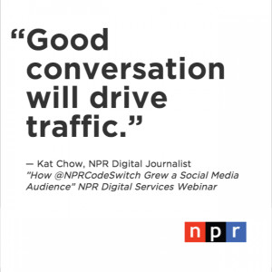 ... NPR's Code Switch Grew a Social Media Audience From Scratch [VIDEO