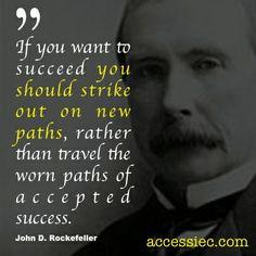 John D Rockefeller Quotes John d. #rockefeller: