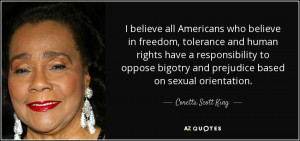 believe all Americans who believe in freedom, tolerance and human ...
