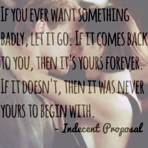 Indecent proposal favorite quotes