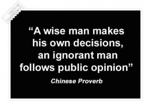 Chinese proverb quote