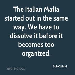 Bob Clifford The Italian...