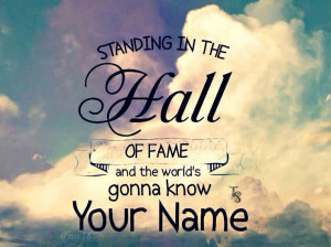 The Script Hall Of Fame Quotes Hall of fame - the script