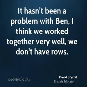 David Crystal Quotes