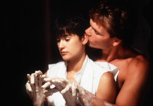 Demi Moore and Patrick Swayze - Ghost Movie Photo 5