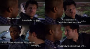 It was a York Peppermint Patty, Shawn.
