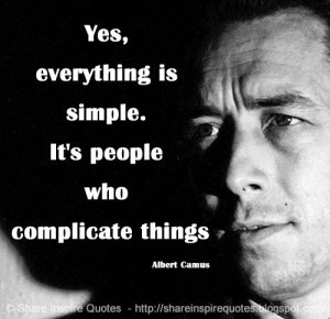 Everything is simple