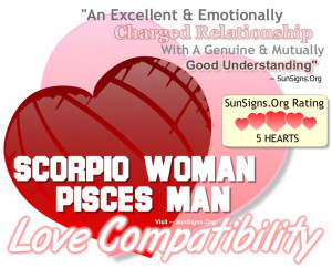 Scorpio Woman And Pisces Man – A Genuine & Perfect Match