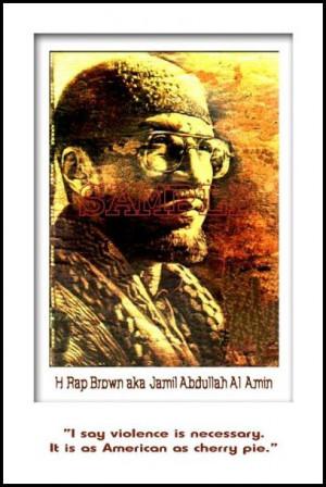 Rap Brown: Violence by Julian Madyun