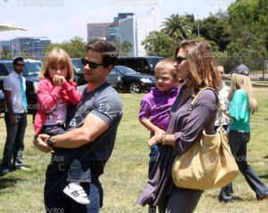 -Mark-Wahlberg-and-Rhea-Durham-with-their-children-Ella-Rae-Wahlberg ...