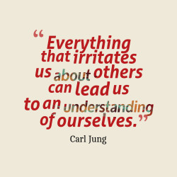 Everything that irritates us about others can lead us to an ...
