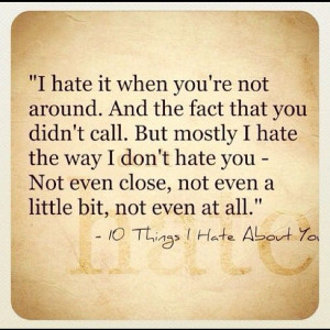 ... let go.Love Hate Quotes, Hate Me Quotes, Remember Me Movie Quotes