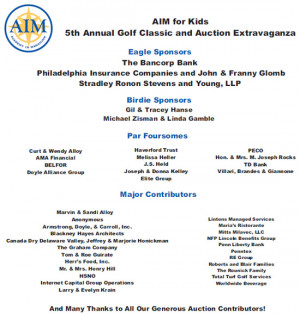 Golf Classic and Auction Extravaganza