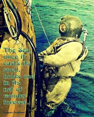 Jacques Cousteau quote 4