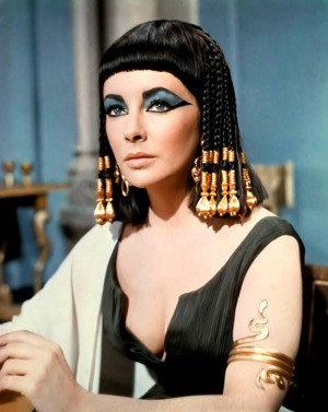 really don't remember much about Cleopatra. There were a lot ...