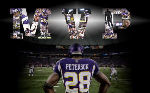 Adrian Peterson Minnesota Vikings Wallpaper