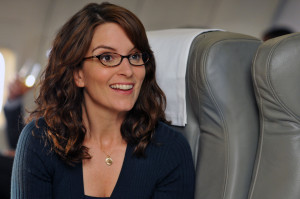 Tina Fey and her alter ego Liz Lemon have brown hair, a somewhat ...