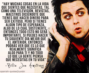 Billie Joe's quotes