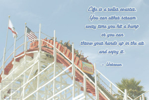 Life Is Like A Roller Coaster Life Quotes