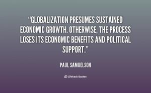 Economic Globalization Quotes