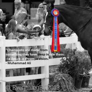 Photo: Inclusive after winning USHJA derby at the Devon Horse Show ...