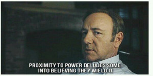 adore Kevin Spacey..and House of Cards