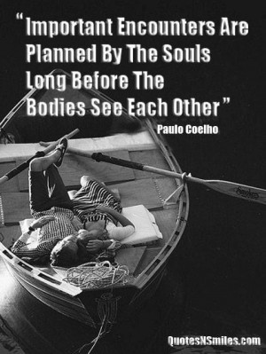 Soulmates paolo coelho picture quote