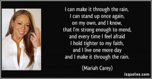 More Mariah Carey Quotes