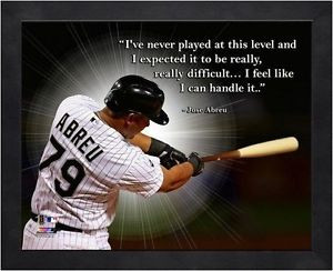 ... Abreu Chicago White Sox MLB Pro Quotes Photo (Size: 12