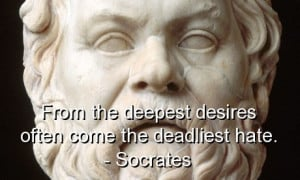 Socrates, best, quotes, sayings, wisdom, desire, hate, wise