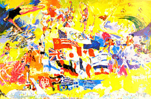 LeRoy Neiman Olympic Paintings