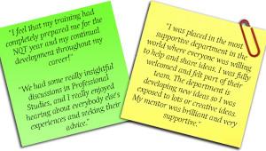What Reading Partnership Teachers say:
