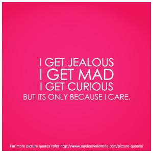 Quotes about jealous boyfriends