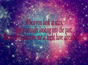 Colorful Galaxy With Quote galaxy quotes colorful