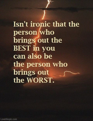 Ironic Quotes About...