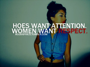 girl, hoes vs women, photography, quote, quotes - inspiring picture on ...
